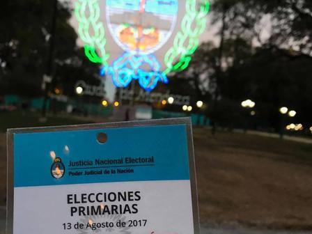 Acompañamiento electoral PASO 2017