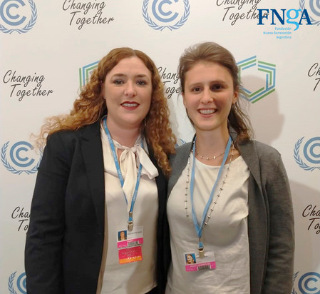 FNGA en la conferencia de la ONU sobre cambio climático