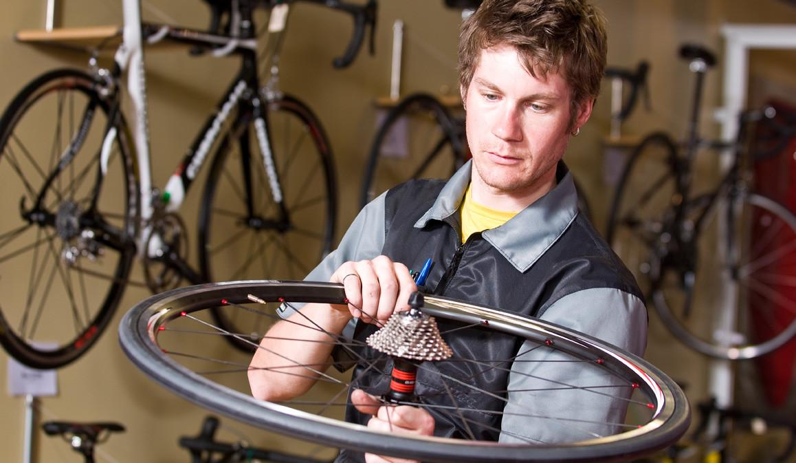 Fahrrad-Fixing