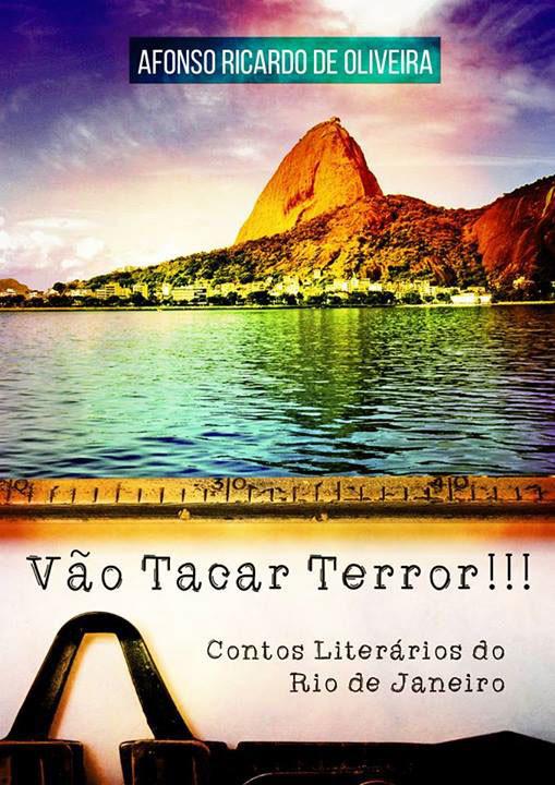 Capa do livro Vão Tacar Terror