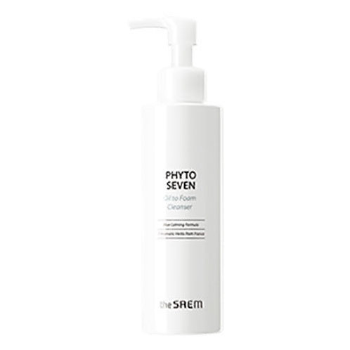 [the SAEM] PHYTO SEVEN Oil to Foam Cleanser 180ml.