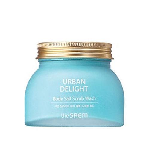 [the SAEM] URBAN DELIGHT Body Salt Scrub Wash 320g.