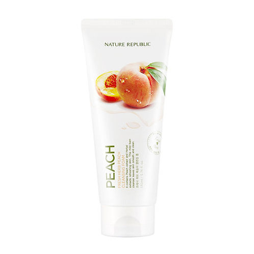 [Nature Republic] Fresh Herb Peach Cleansing Foam 170ml.