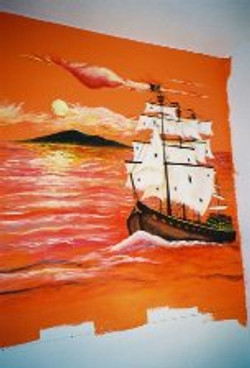 Custom wall mural.jpg.jpg.jpgacrylics on latex wall paint