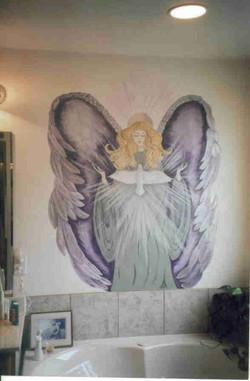 Custom wall mural.jpg.jpg.jpgacrylics on latex painted wall