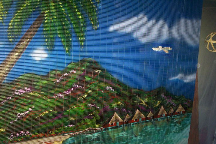 1st panel of Custom Beach Mural.jpg.jpg.jpgacrylics on 6' plastic roll-up screen shade