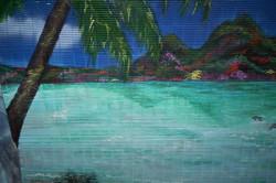 2nd panel of Custom Beach Mural.jpg.jpg.jpgacrylics on 6' plastic roll-up screen shade
