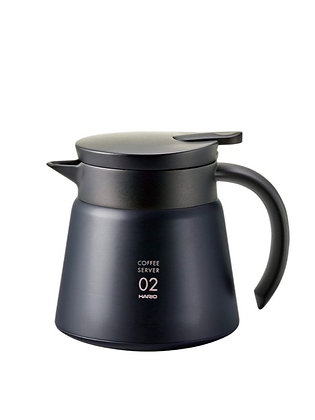 Insulated Stainless Steel Black Server - 02