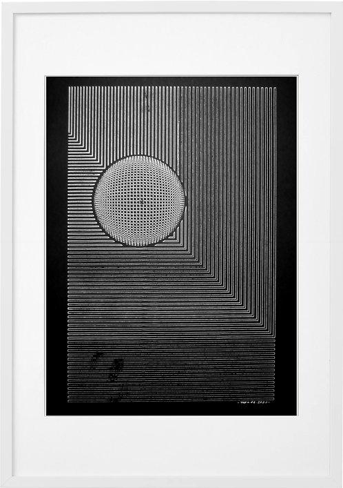 #0022 - SPACE 02 , A3 PRINT