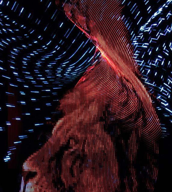 Pixelstick Lightpainting
