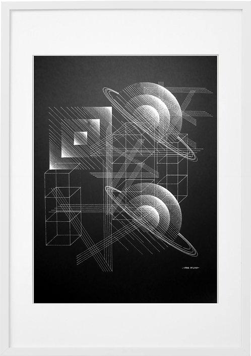 #0023 - SPACE 03 , A3 PRINT