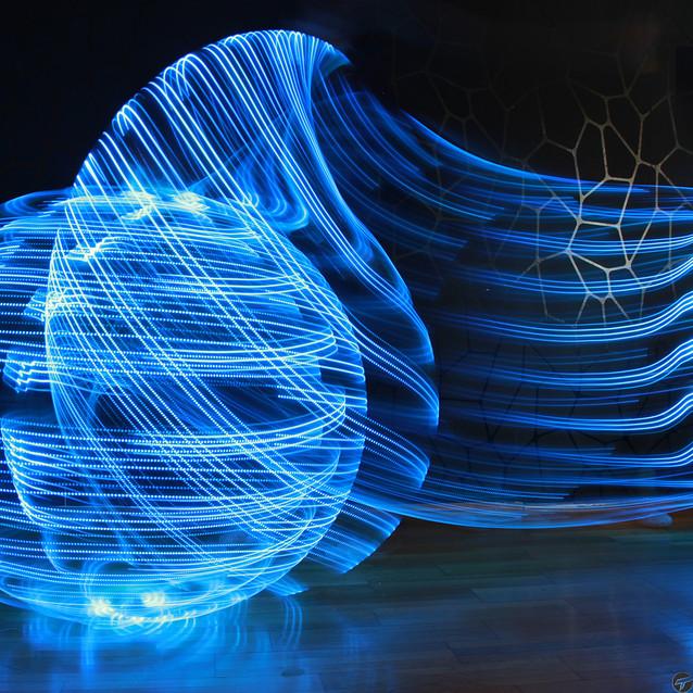 Hula Hoop Lightpainitng