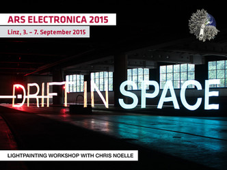 WORKSHOP @ ARS ELECTRONICA FESTIVAL 2015