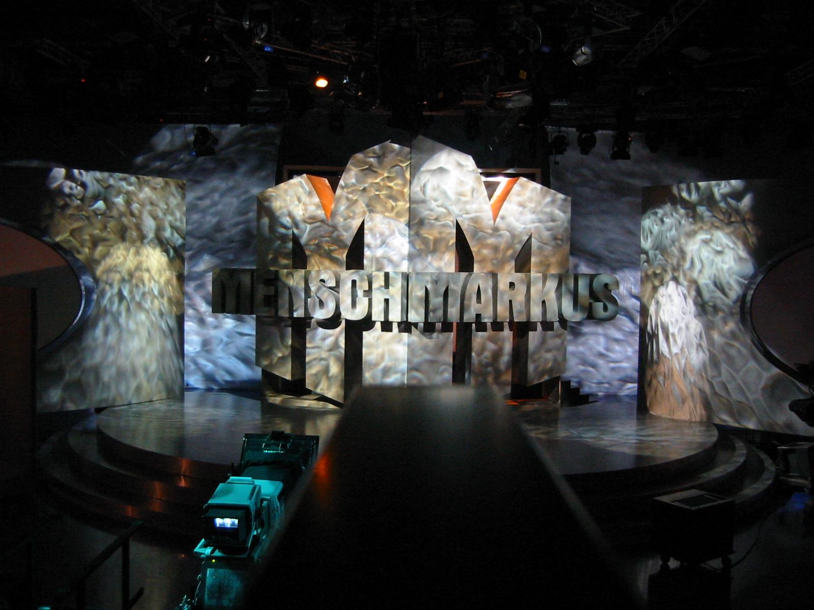 MENSCH MARKUS TV SHOW