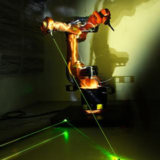 ROBOTIC LASER LIGHTPAINITNG