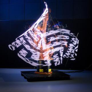 ROBOTIC LIGHTPAINTING LIVE
