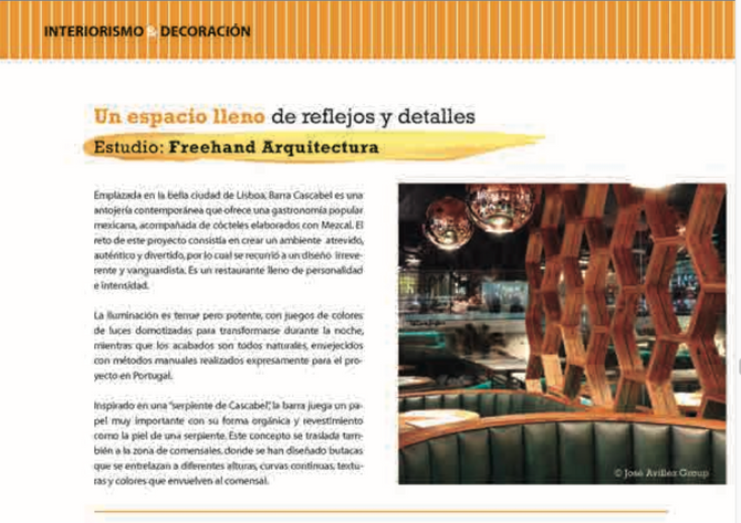 Freehand Arquitectura en la Revista NAN ARQUITECTURA y CONSTRUCCION