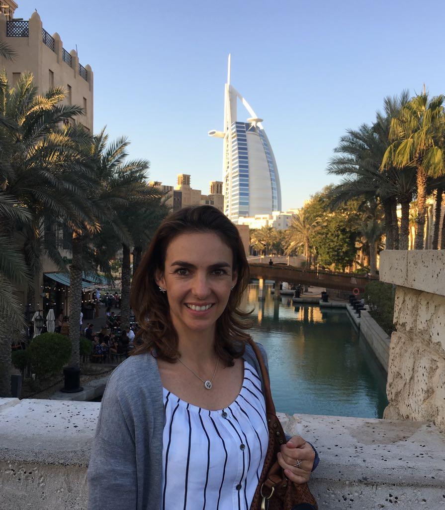 Lourdes Treviño Quiros en Dubai