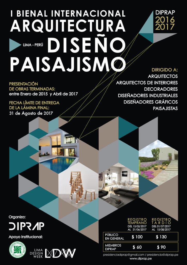Bienal Internacional de Arquitectura, Diseño & Paisajismo Freehand Arquitectura