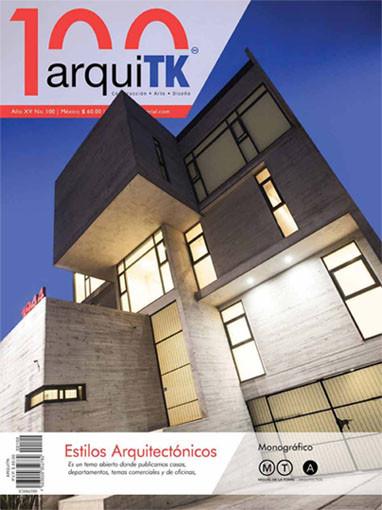 La revista ARQUITK nos publica nuestra obra 'La Favorita' en su número de marzo