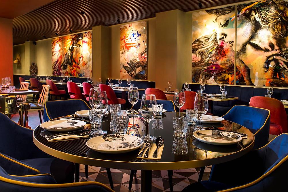 Restaurante Iztac, Freehand Arquitectura, Lourdes Treviño, Arquitectos Mexicanos Madrid, Restaurantes Mexicanos Madrid, Restaurantes de Diseño