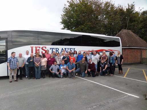 coach trips from the pub