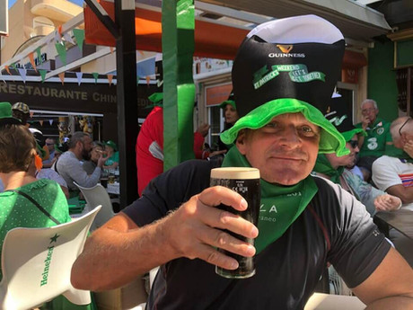 guiness and st patricks day