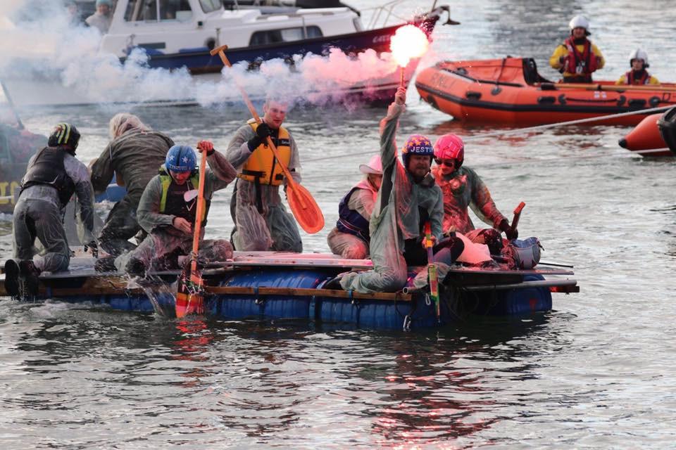Poole raft race