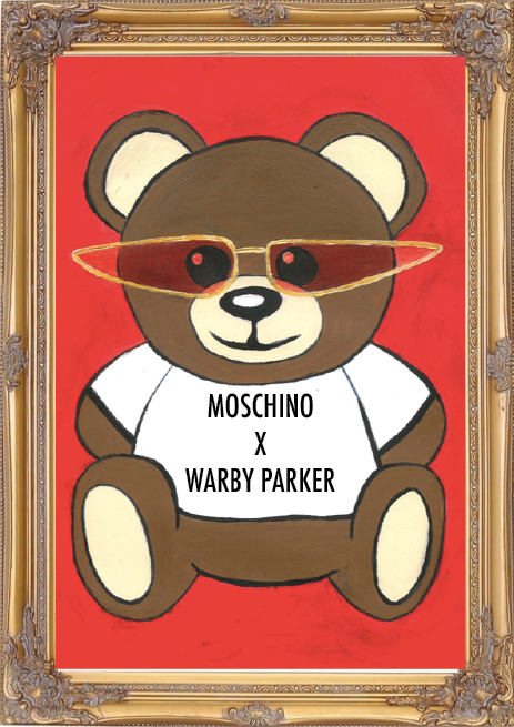 Moschino x Warby Parker