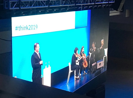 IBM #think keynote