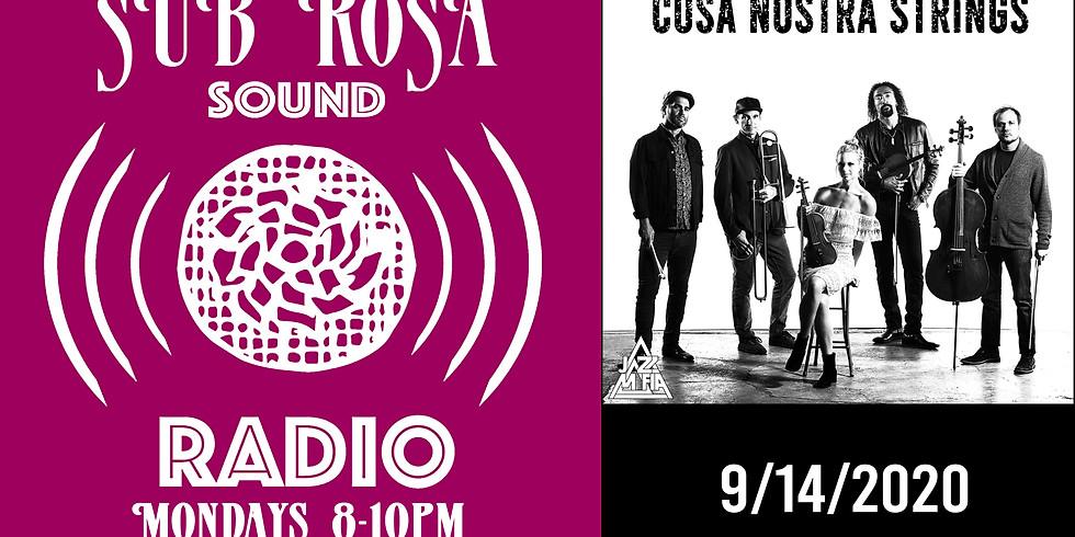 Cosa Nostra on Sub Rosa Sound