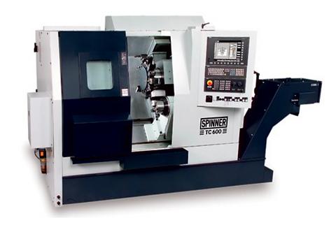 Bild Drehmaschine Spinner TC600 SMCY