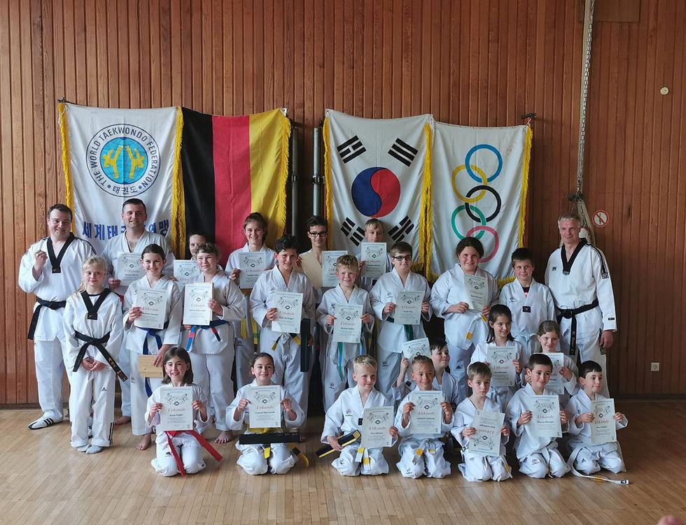 Taekwondo Gruppenbild