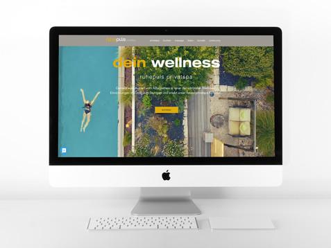 Website für Wellness Einrichtung