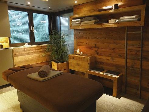 Massage Raum im Ruhepuls Ostfildern