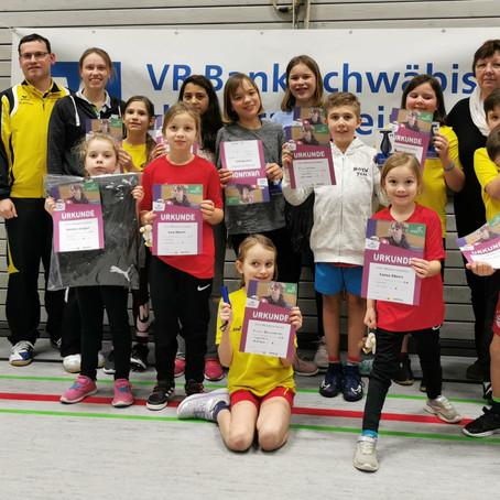 Tischtennis Spaß beim Mini-Ortsentscheid in Ingersheim