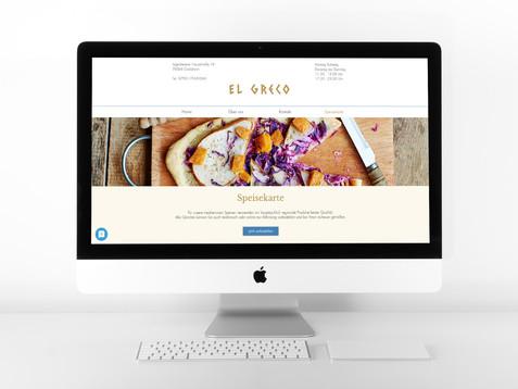 Restaurant-Website mit Bestellsystem