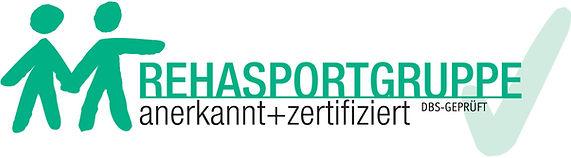 Logo Rehasportgruppe DBS-geprüft