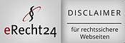 e-Recht24 Siegel Disclaimer