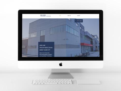 Website für Immobilienvermietung