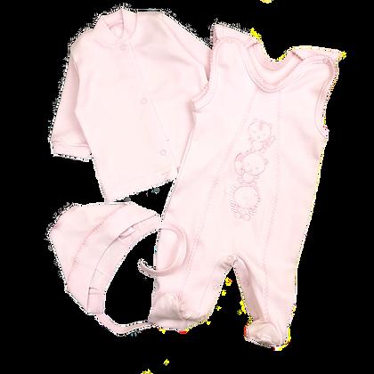 Комплект для новорожденного с вышивкой