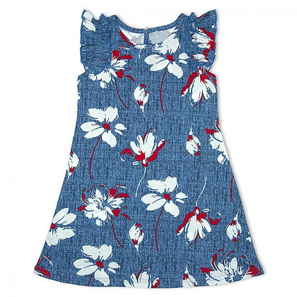 платье детское в цветы