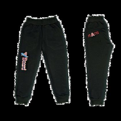 спортивные брюки для мальчика  черные