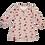 теплая ночная рубашка для девочки с длинным рукавом
