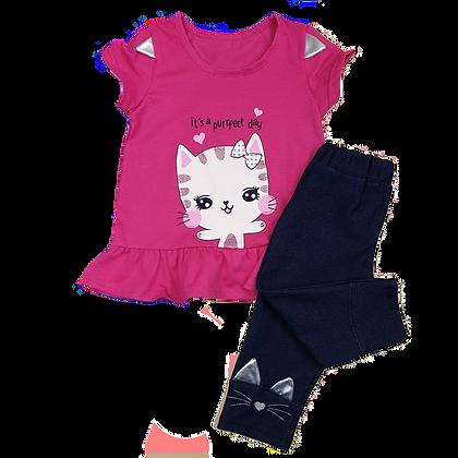 костюм летний для девочки детский