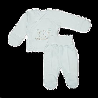 белый комплект для новорожденных