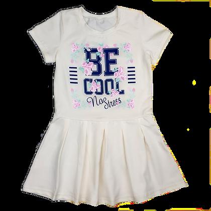 Платье для девочки в спортивном стиле
