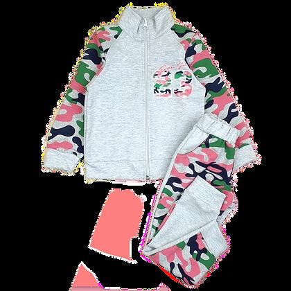 спортивный костюм для девочки розовый камуфляж
