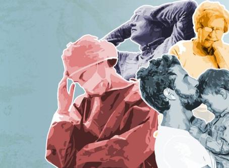 """Elke Van Hoof: el confinamiento es """"el mayor experimento psicológico de la historia"""""""
