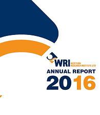 WRI Annual Report 2016 - COVER.jpg
